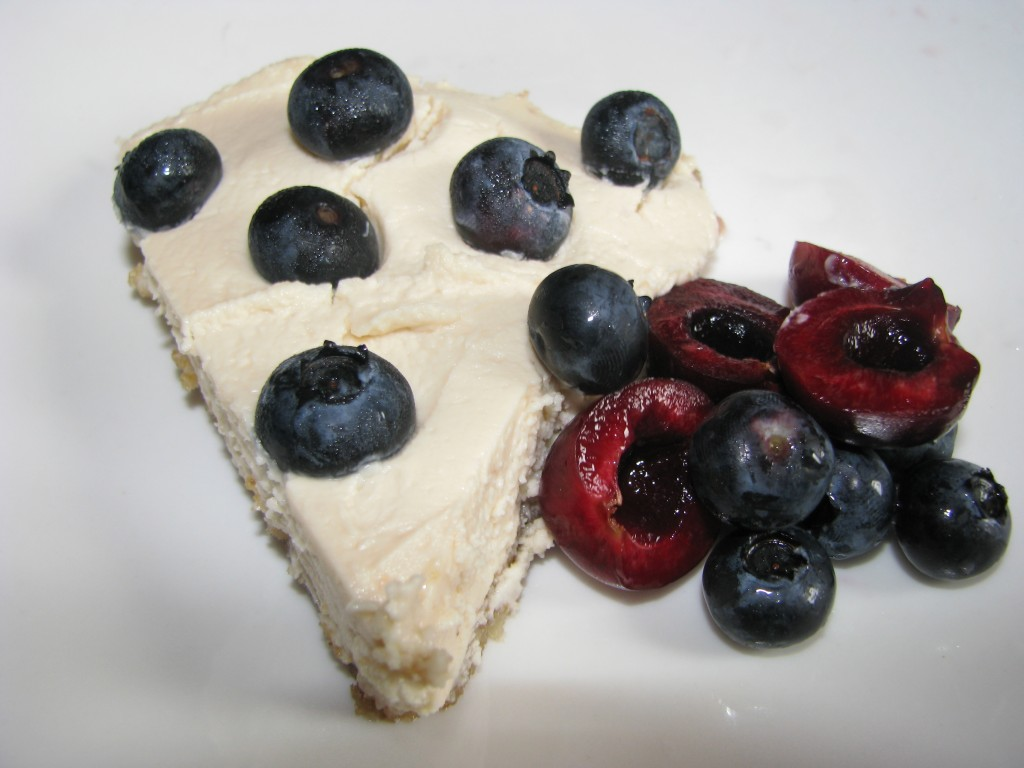 Organic Blueberry Chevre Pie