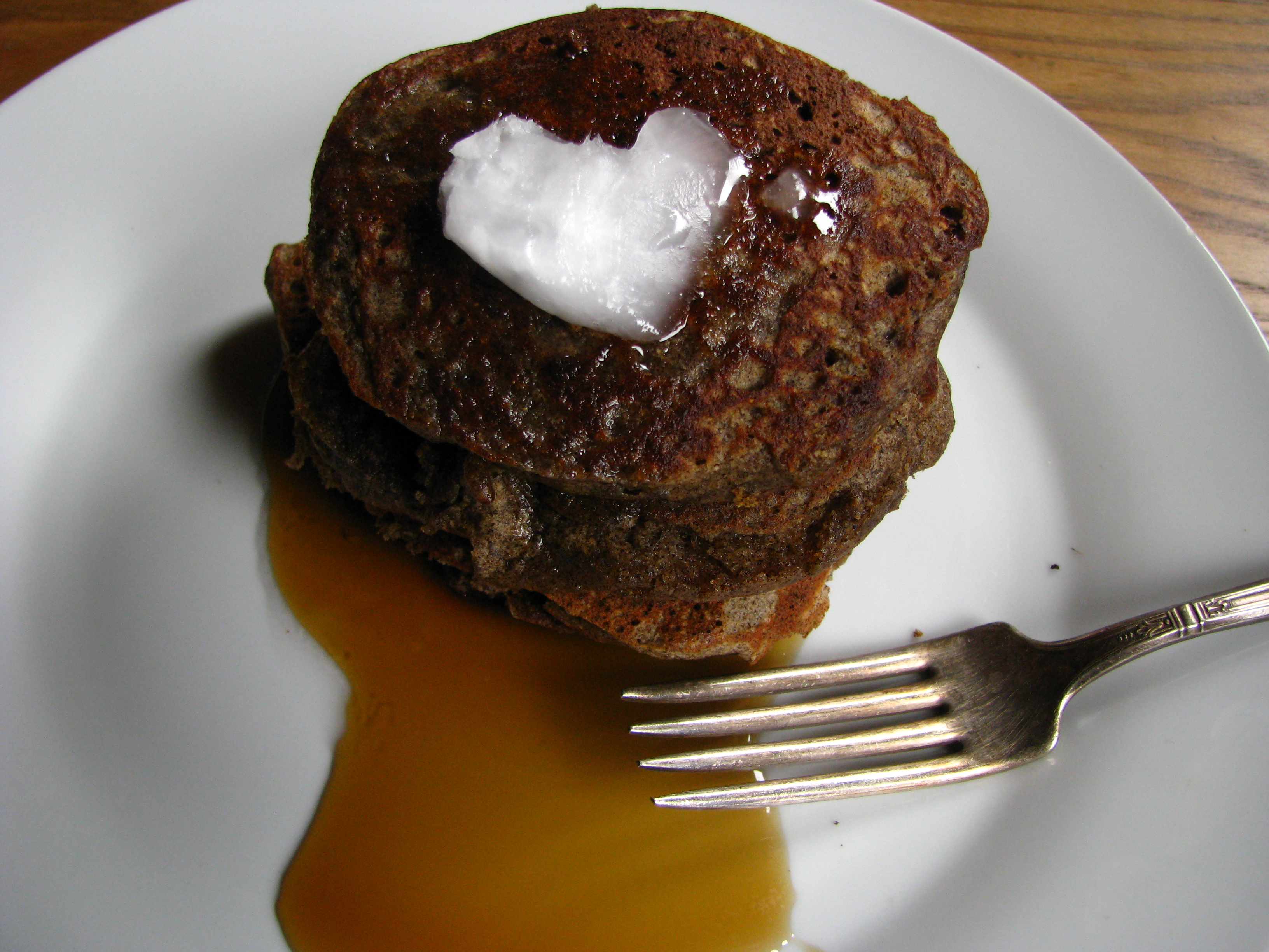 Buckwheat pancakes, gluten-free, quick and easy to make