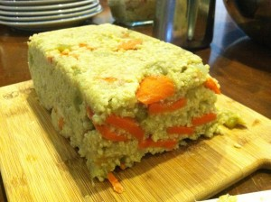 Millet and Sweet Carrot Loaf