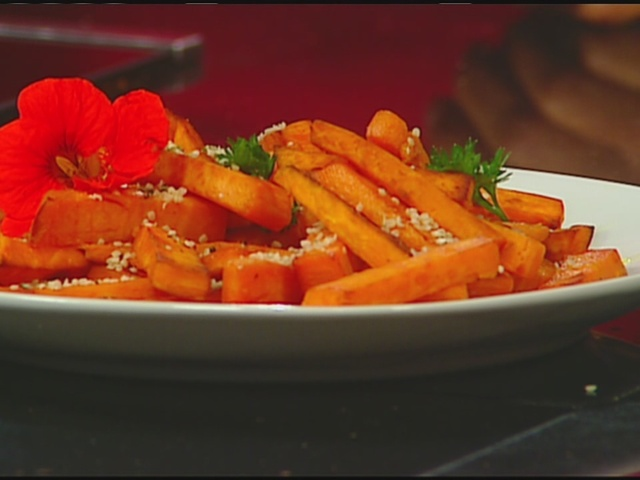 Gluten-Free and Vegan Sweet Potato Fries