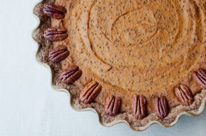 Pumpkin/Sweet Potato Pie Pecan Pie