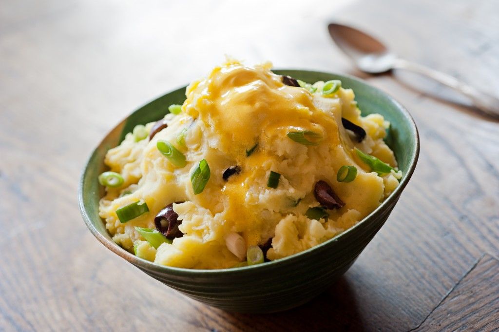 Mashed Potatoes, delicious and dairy-free!