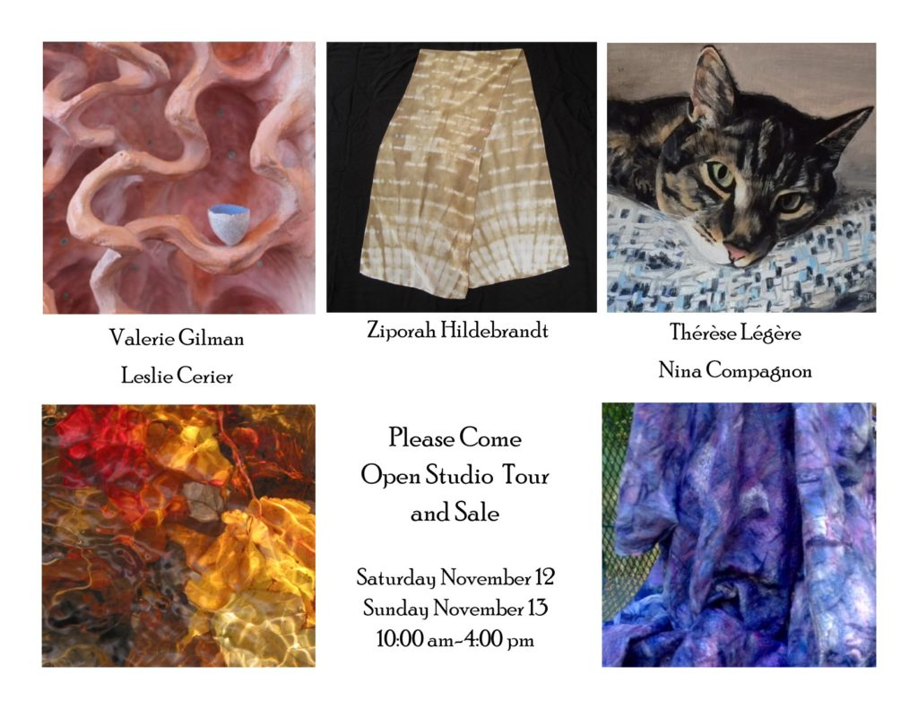 Nov 12&13 Shutesbury Art Tour and Sale