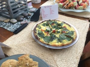 Vegetarian Quiche from Julie and Trish