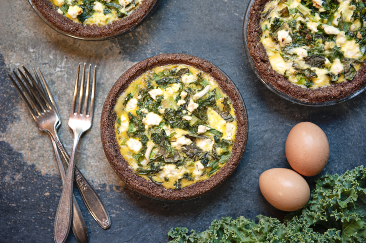 Goat Cheese and Vegetable Quiche