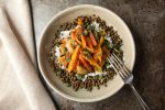 Moroccan Yams and Carrots with French Lentils vegetarian and gluten-free