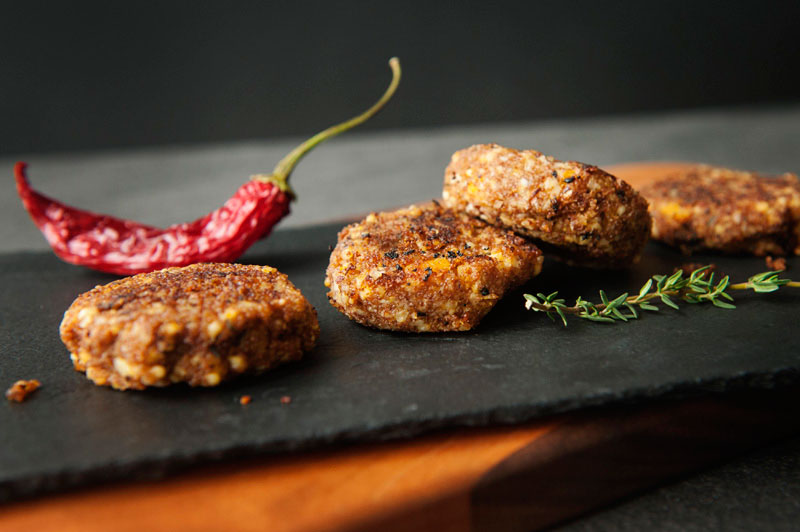 Teff and Vegetable Croquettes