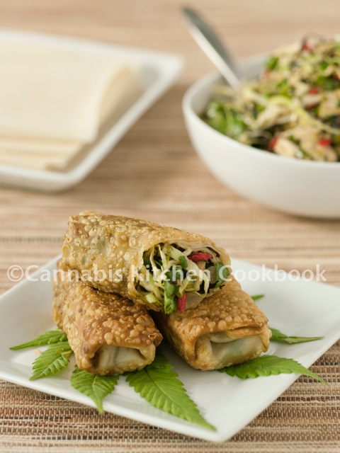 Cannabis Ginger And Arame Egg Rolls