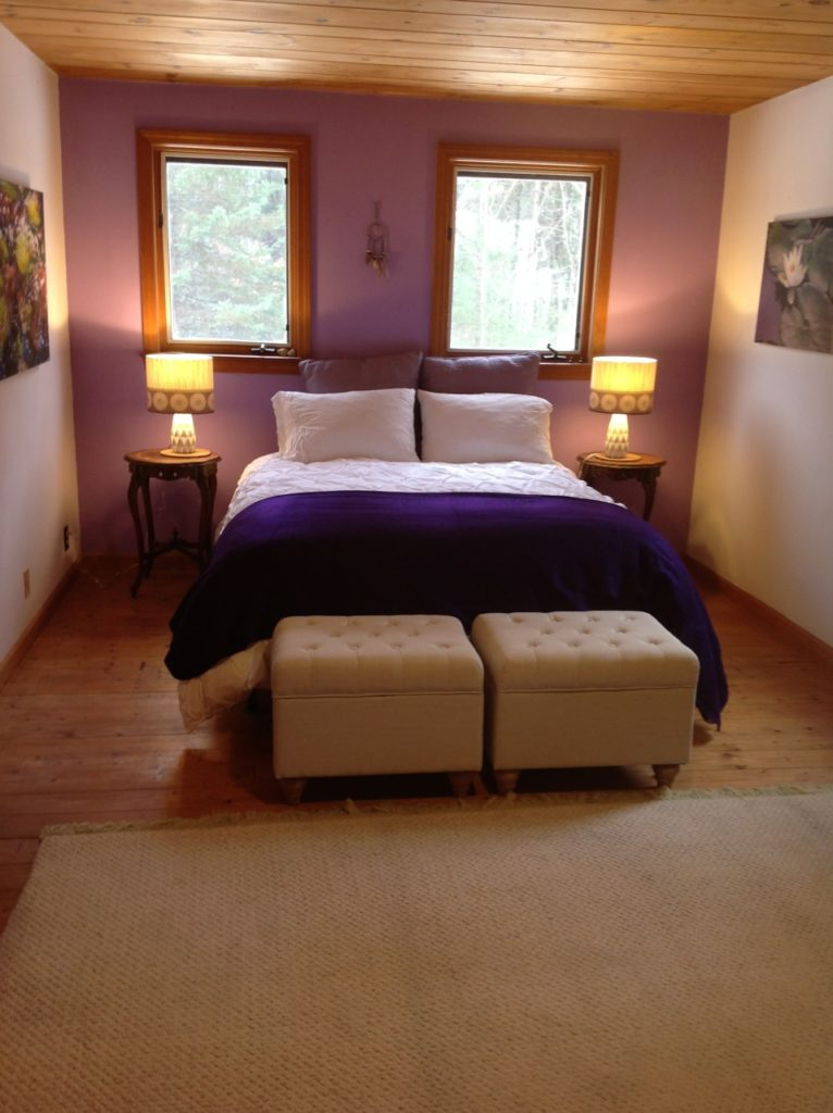 Master Bedroom, Lesie's organic B&B