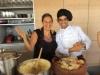 Chef Emiliano teaching