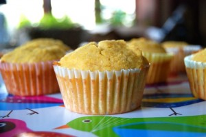 Corn Muffins from Gluten-Free Recipes for the Conscious Cook