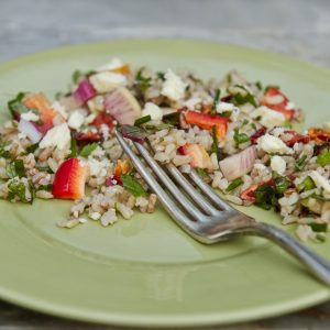Organic Mediterranean Rice Salad