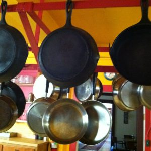 Stainless Steel and Cast Iron Pots and Pans