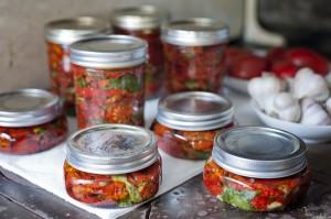 Marinated Dried Tomatoes, easy to make, gluten-free, vegan recipe