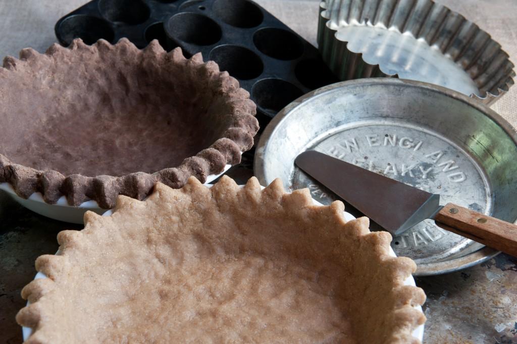 Gluten-Free Deep Dish Pie Crust with Teff Flour