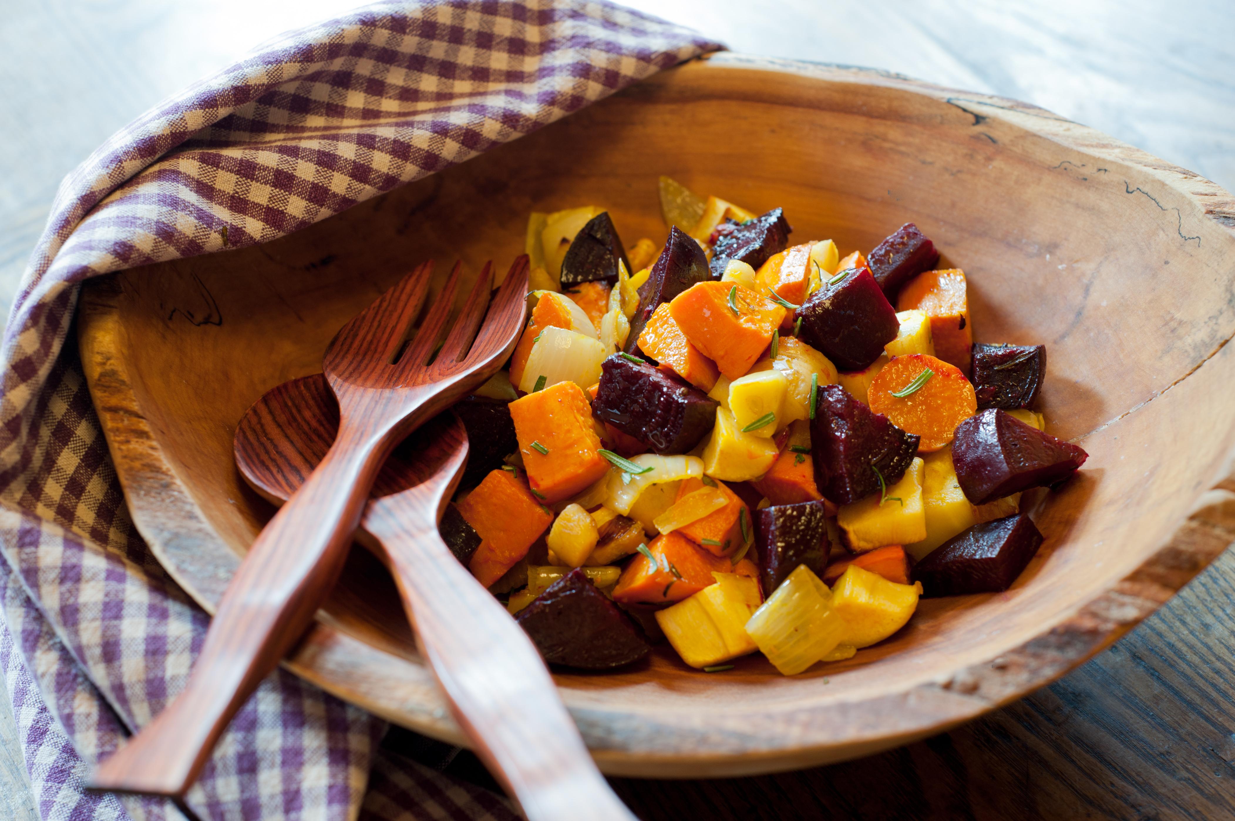 Super Sweet Roasted Vegetables
