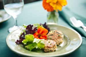 Falafel Patties are great for lunch or dinner served with a salad