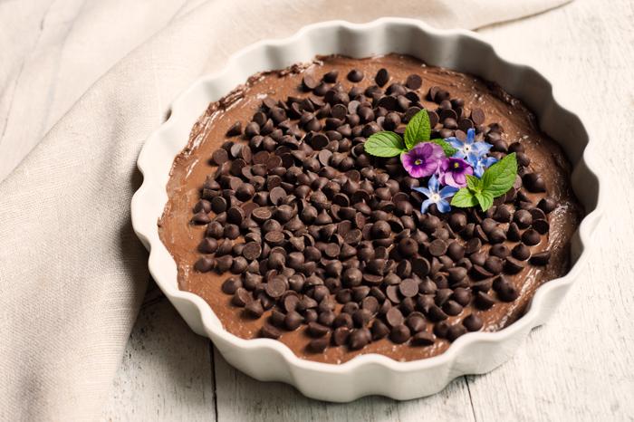 Chocolate Organic Organic Chocolate Chip Cheesecake