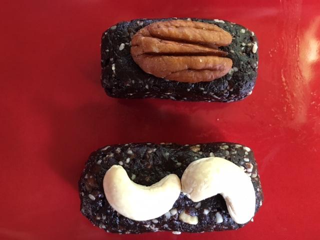Organic, Vegan, Gluten-free Delicious Nutty Energy Bars