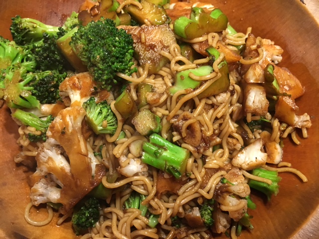 Gluten-free Vegetable Lo Mein