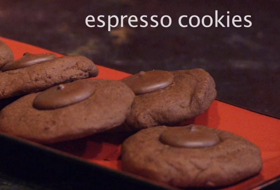 Leslie Cerier teams up with Deans Beans and create Espresso Cookies with Deans Beans products