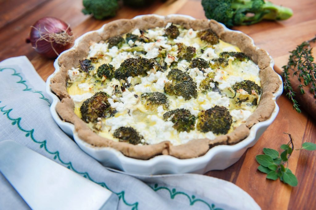 Feta /Cheese Broccoli Pie