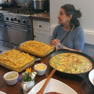 A Feast from one of my cooking workshops