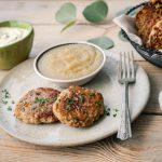 Potato Pancakes with Teff Flour, Gluten Free, Vegetarian and Delicious
