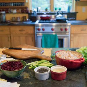 Leslie's kitchen,