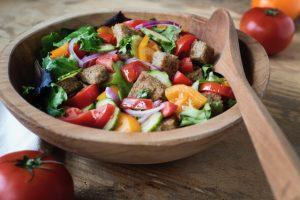 Teff Croutons for Salad